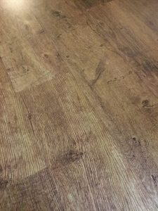 LVT rustic oak wide plank