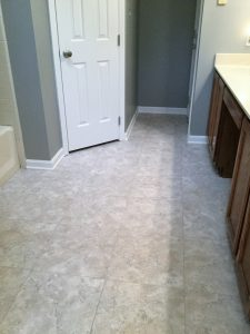 Armstrong Alterna Durango Bleached Sand LVT with Mist grout